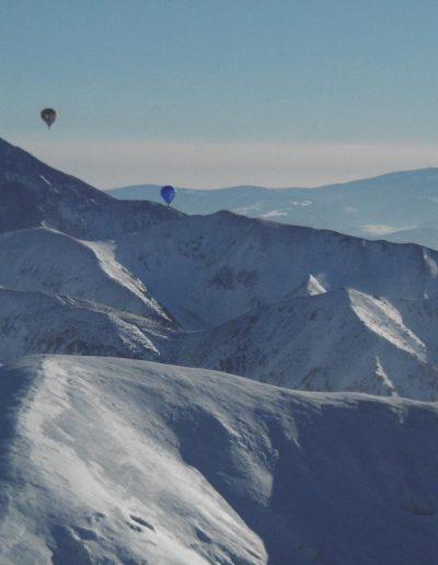 5 balony w drodze na szczyt