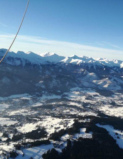 5 widok z balonu na góry